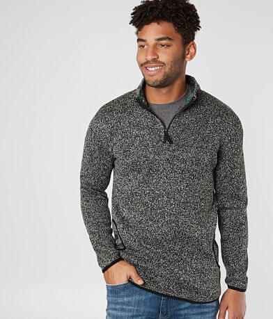 Rebel Star Quarter Zip Pullover