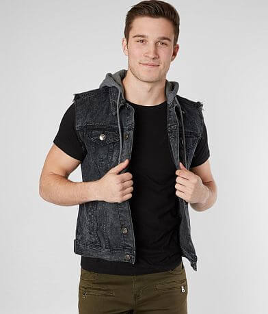 Rebel Star Denim Vest