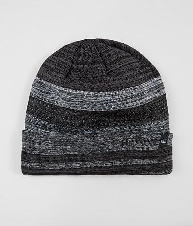 BKE Perforated Stripe Beanie