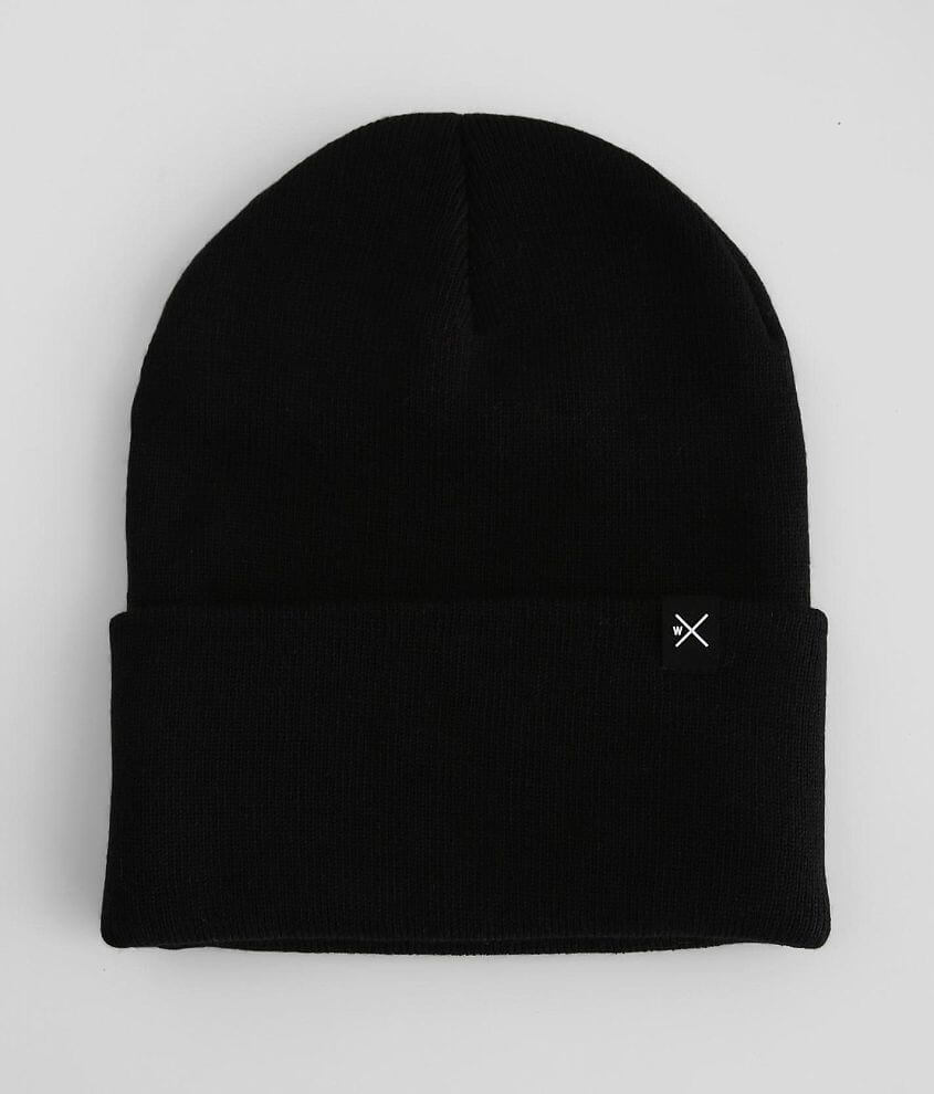 Departwest Solid Knit Beanie front view