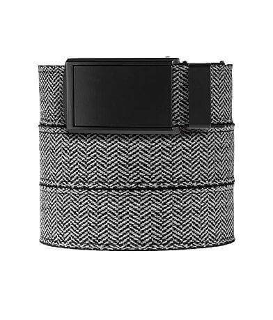 SlideBelts Herringbone Canvas Belt