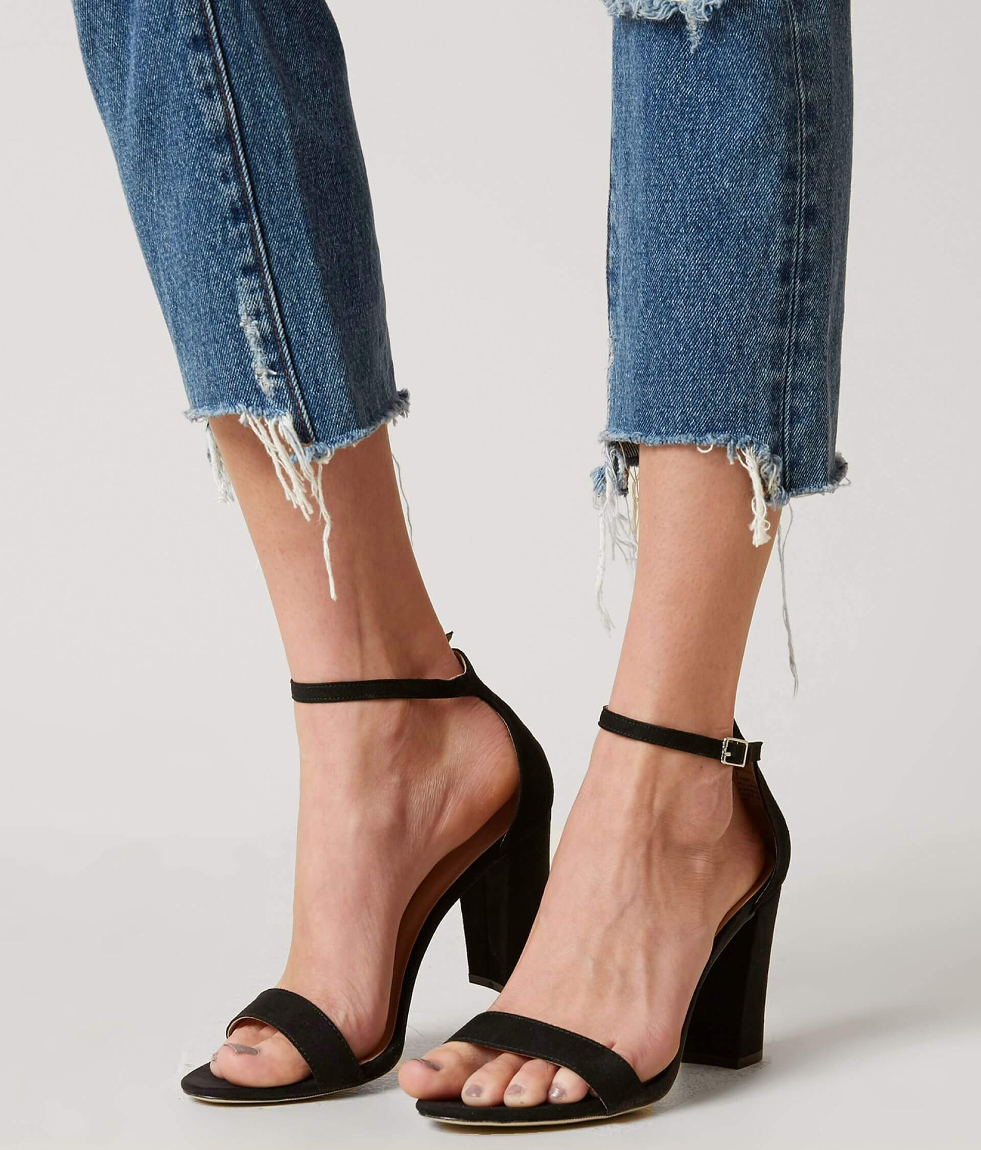 98acfb33693 Madden Girl Beella Heeled Sandal - Women s Shoes in Black Micro