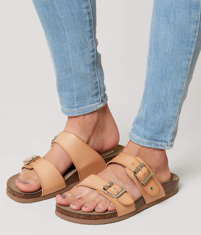 84b501e6605 Madden Girl Brando Sandal - Women's Shoes in Nude | Buckle