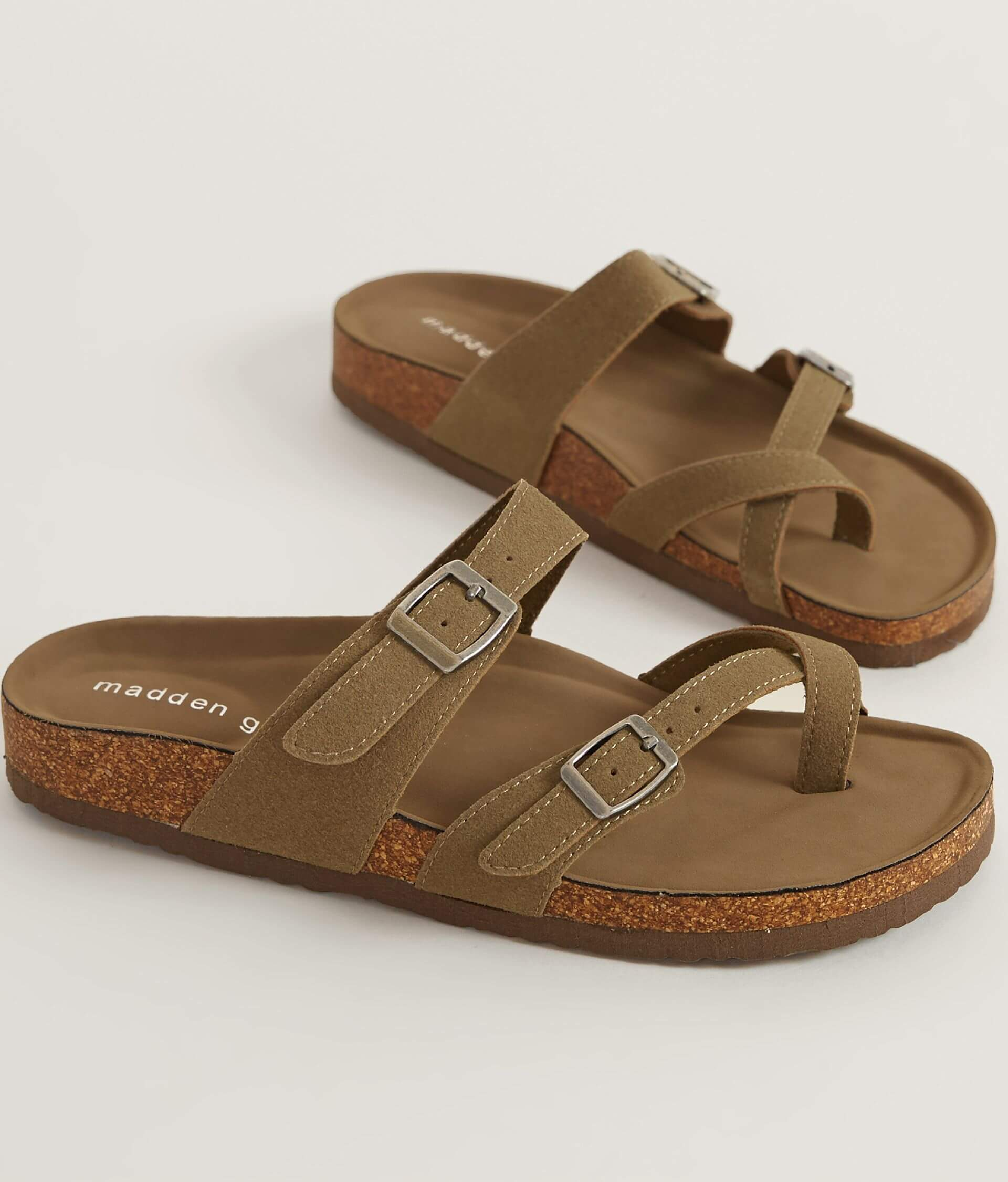 2ac5c0fcd49 Madden Girl Brycee Sandal - Women s Shoes in Taupe