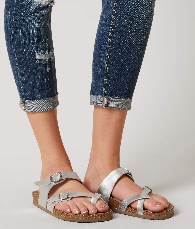353167ca19f Madden Girl Bryceee Sandal - Women's Shoes in Silver   Buckle