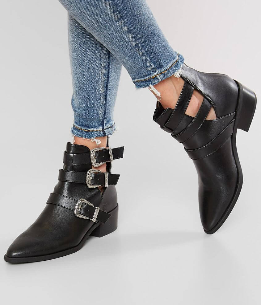 431358d12e4c Madden Girl Cecily Ankle Boot - Women s Shoes in Black