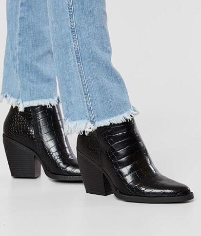 Madden Girl Klicck Snakeskin Ankle Boot