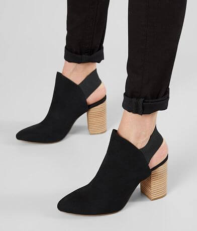 Madden Girl Kourt Heeled Mule Shoe