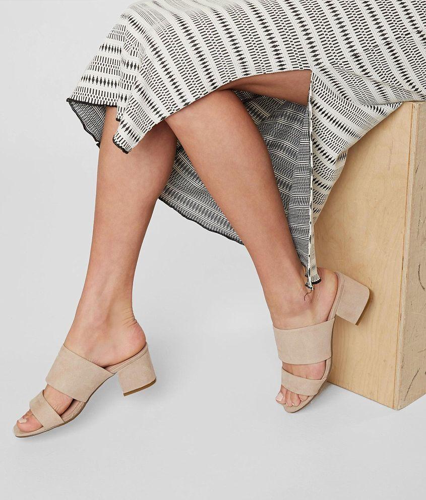 Madden Girl Lylah Heeled Mule Sandal front view