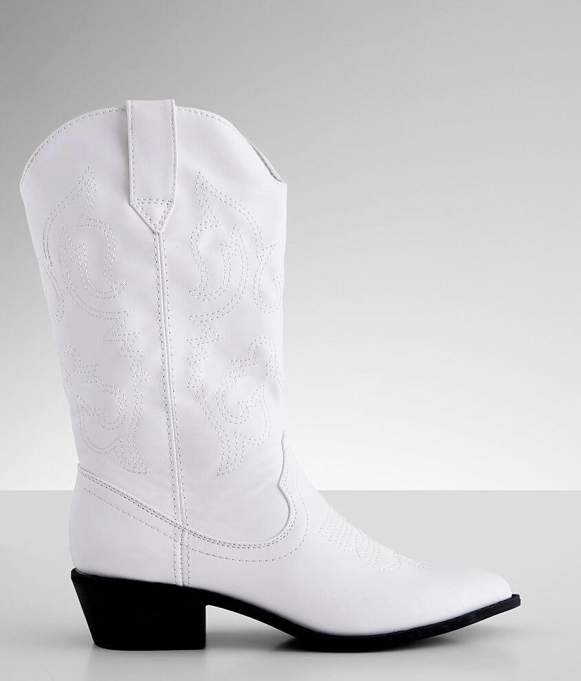Madden Girl Silverton Western Fashion Boot front view