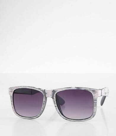 BKE Faux Woodgrain Sunglasses