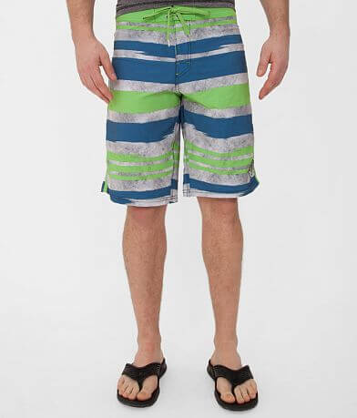 Society Sun Spots Stretch Boardshort