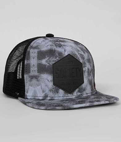 Society Diamond X Trucker Hat
