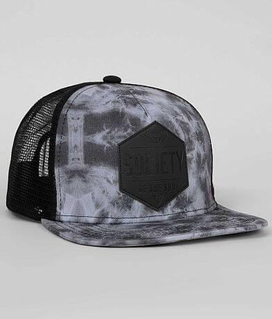 Society Diamond X Trucker Hat