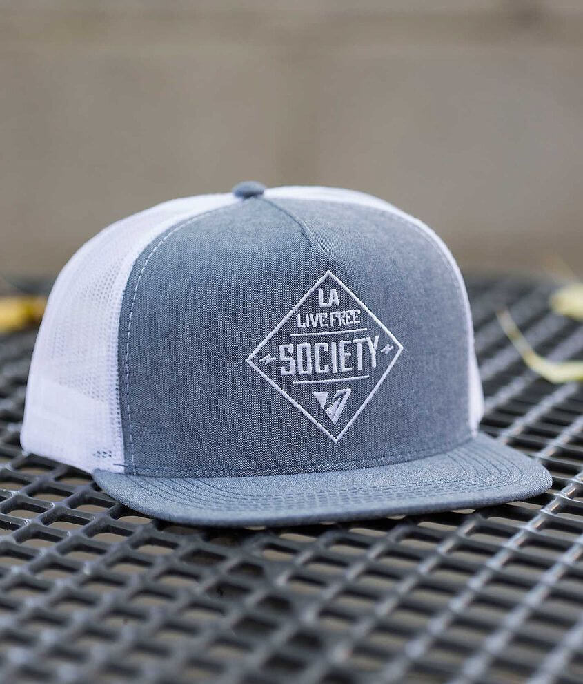 Society Daily Trucker Hat front view