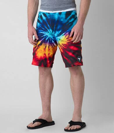 Society Trip Reversible Stretch Boardshort