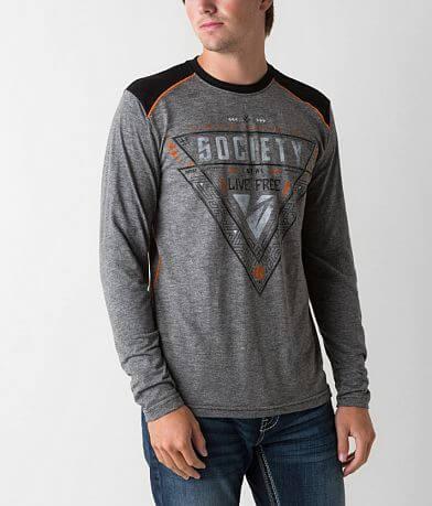 Society Silver T-Shirt