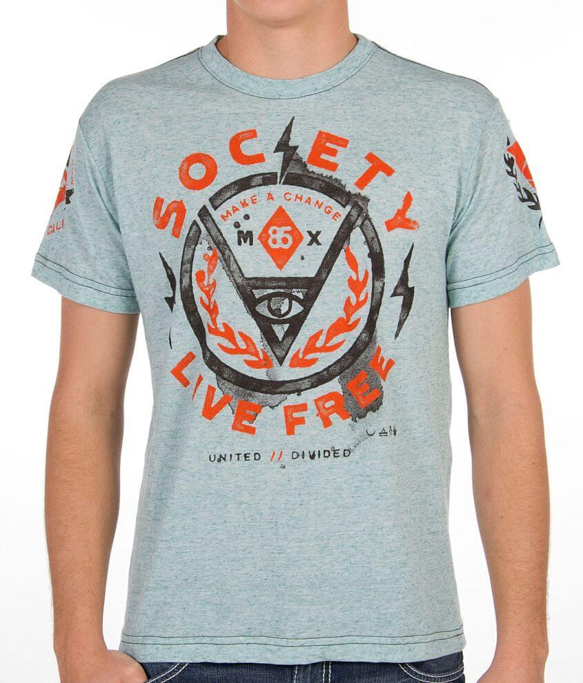 Society Dawn Patrol T-Shirt front view