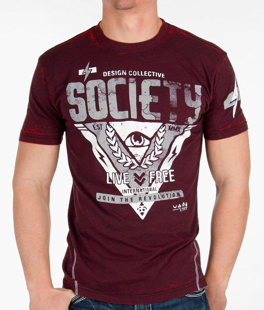 Society High Or Low T-Shirt front view