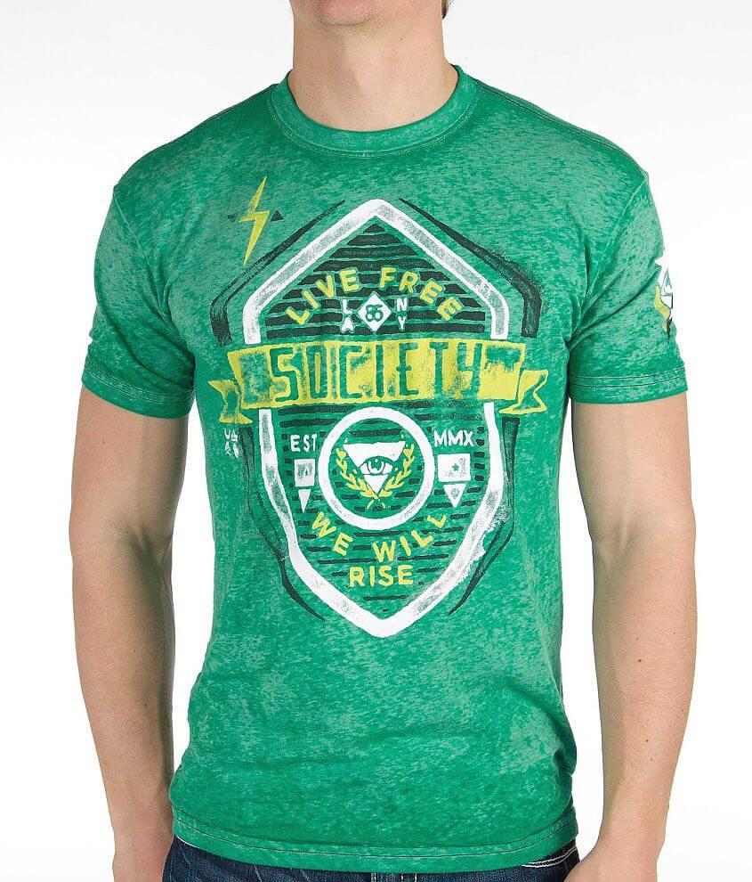 Society Vertigo T-Shirt front view