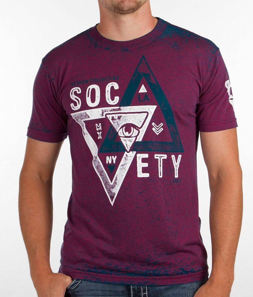 Society Brake T-Shirt front view