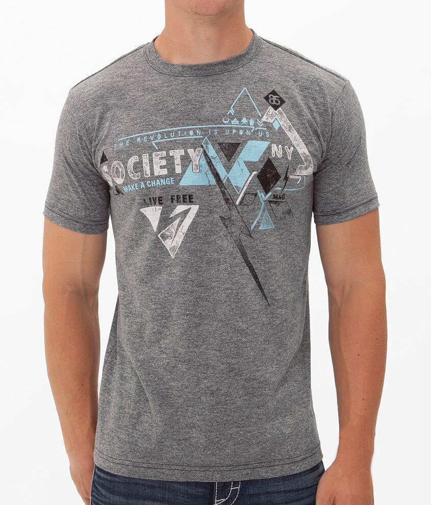 Society Channels T-Shirt front view
