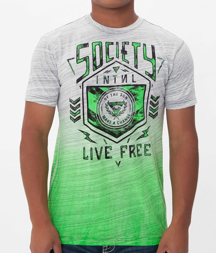 Society Holding On T-Shirt front view