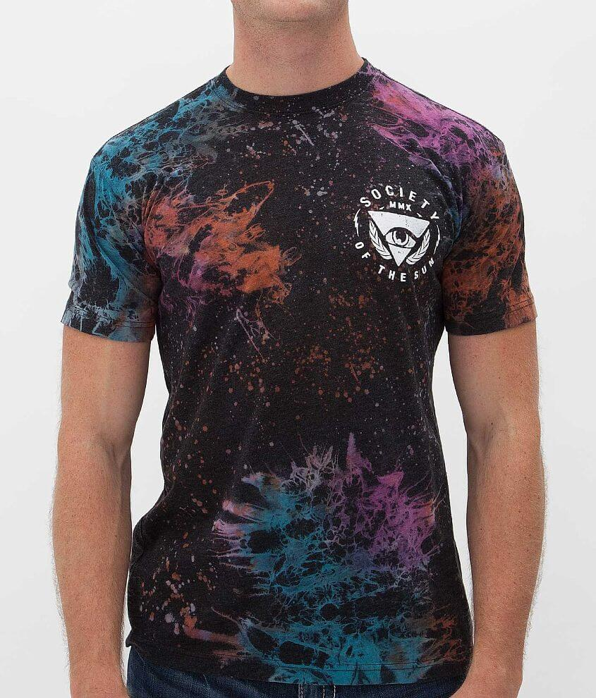 Society Opinion Galaxy T-Shirt front view