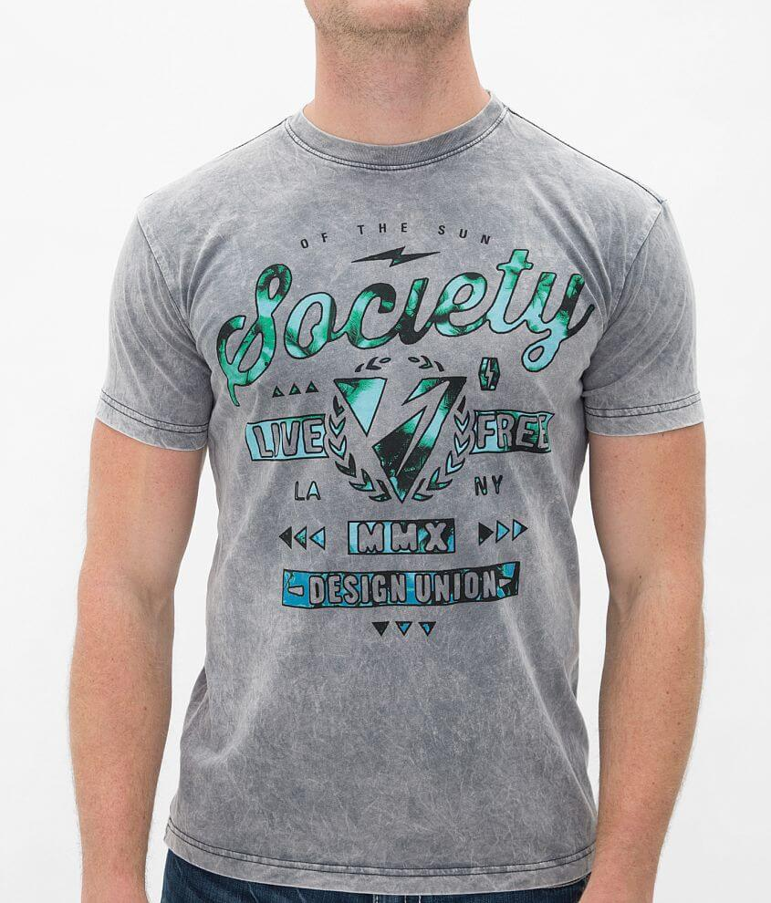 Society Palm T-Shirt front view