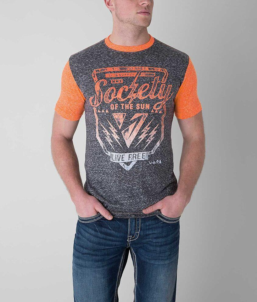 Society Staying Still T-Shirt front view
