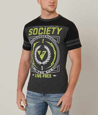 Society Clipped T-Shirt