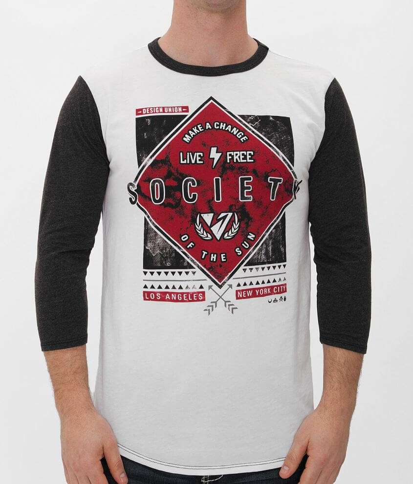 Society Elevator Set On T-Shirt front view