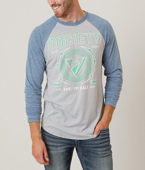 Society Shirt Contact T High T Society High Contact Shirt High Society BArHqBw