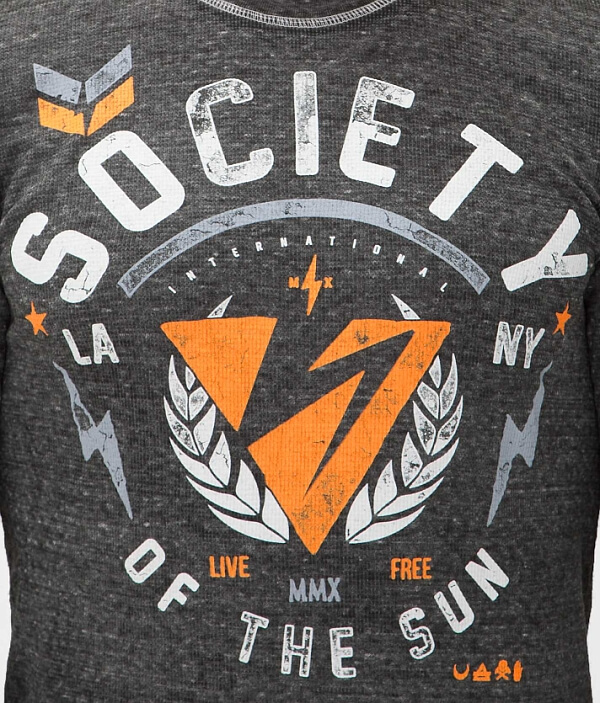 Shirt Society Thrown Society Thermal Thermal Thrown Shirt Society Thrown 7qF1WwU