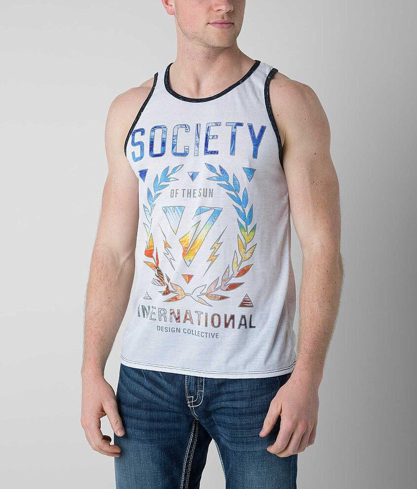 Society Jungle Tank Top front view
