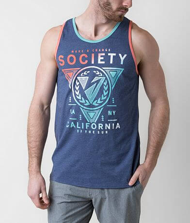Society Collapse Tank Top