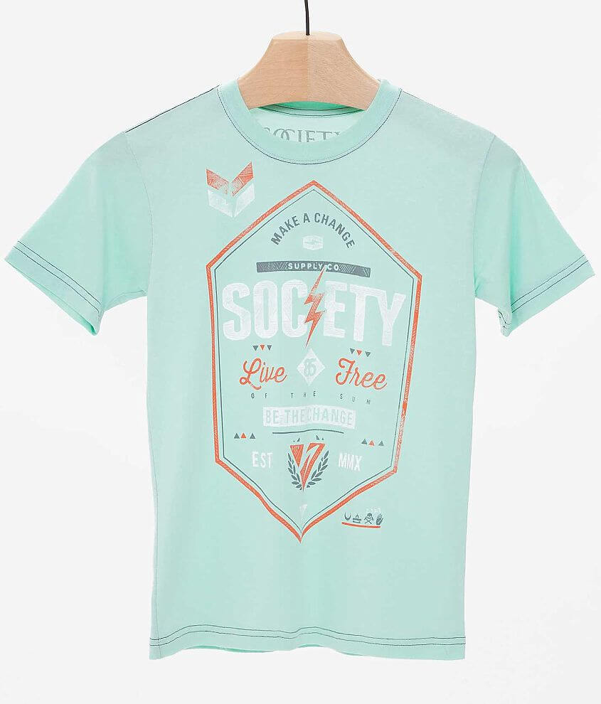Boys - Society Next Day T-Shirt front view