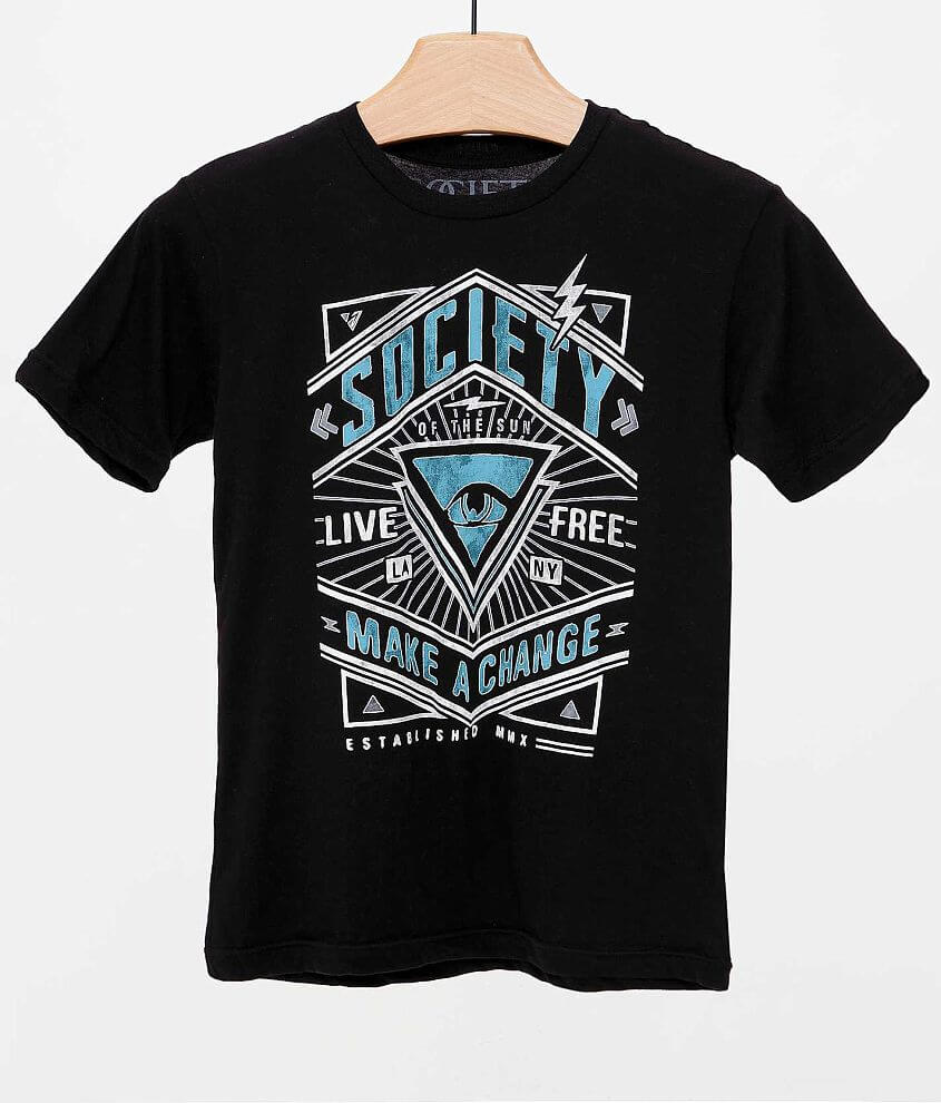Boys - Society Limited T-Shirt front view
