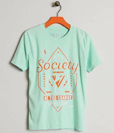 Boys - Society Flipping T-Shirt