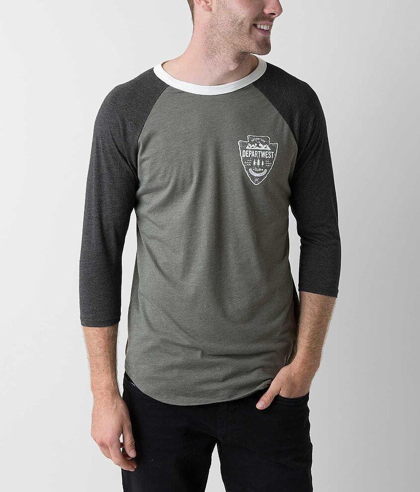 Departwest Coastal T-Shirt front view