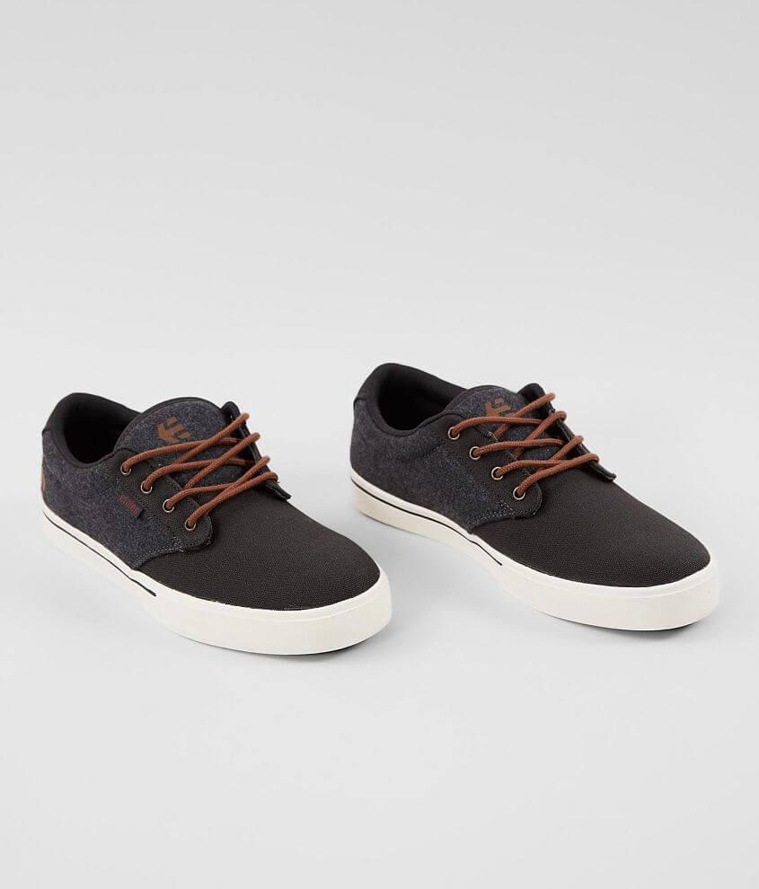 etnies Jameson 2 Eco Shoe Men's Shoes in Dark Grey White
