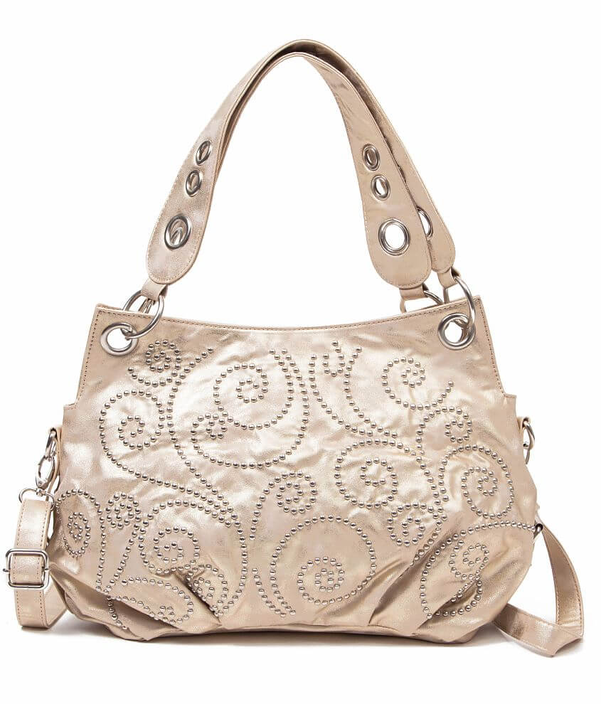 Sophisticated Style Foil Purse front view