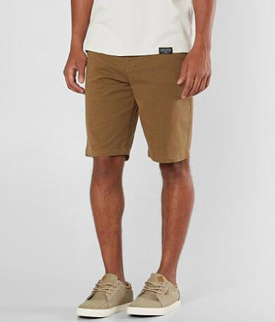 NITROUS BLACK Pigment Chino Stretch Short