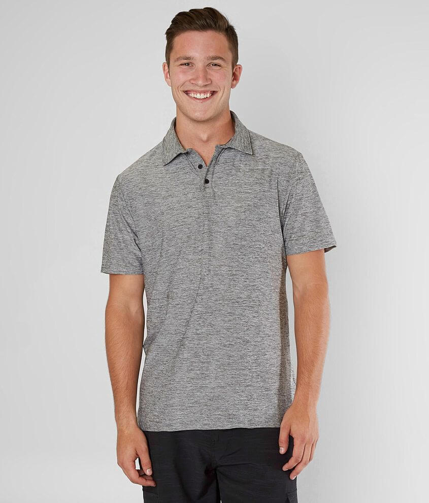 Veece Forecast Stretch Polo front view