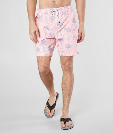 Departwest Beer Palm Stretch Boardshort