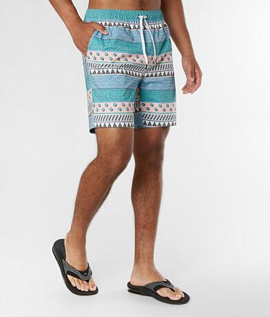 Departwest Dash Stripe Stretch Boardshort