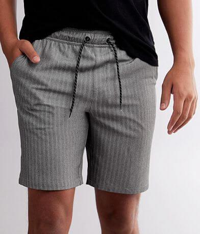 Departwest Tonal Striped Stretch Short