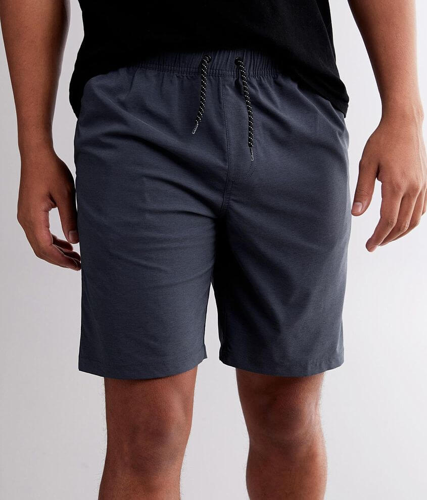 Departwest Solid Stretch Short front view