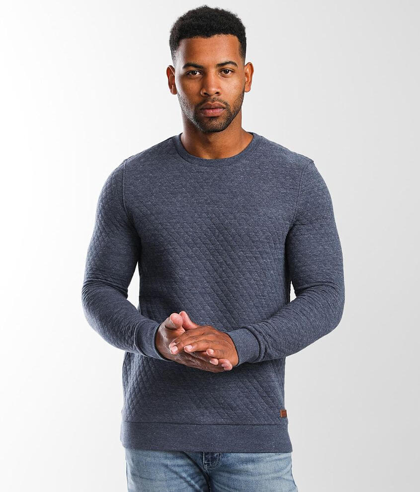 Outpost Makers Oliver Quilted Pullover front view