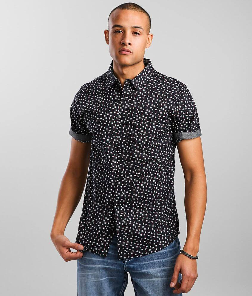 Departwest Red Dot Woven Shirt front view